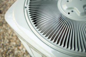 top view of an outdoor ac unit