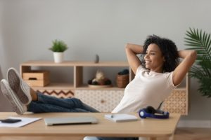 woman-looking-comfortable-in-home-office