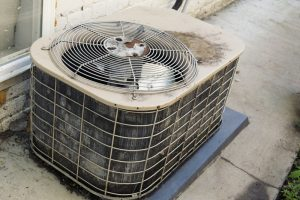 old-degrading-air-conditioner