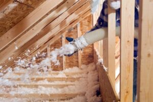insulation-being-blown-into-attic